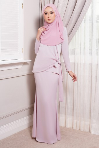 ONDE Kurung in Light Purple