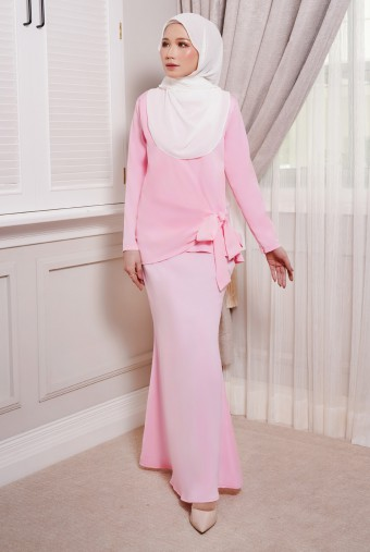 ONDE Kurung in Lady Pink