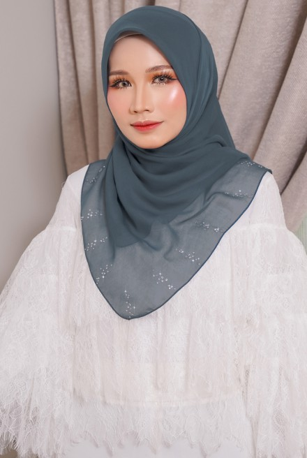Myla Luxe Bawal Dusty Blue