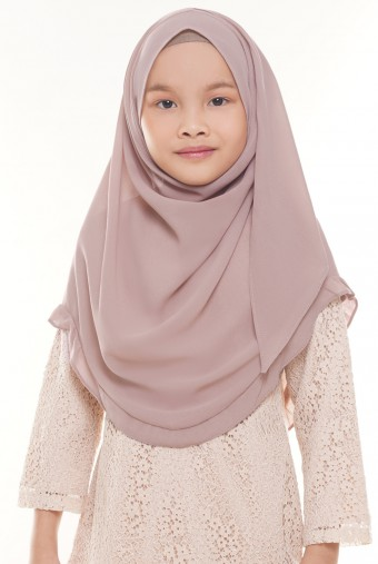 Darda Ruffle Full Instant Kids in Dusty Pink