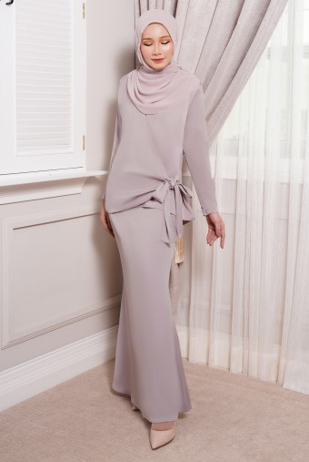ONDE Kurung in Dusty Purple
