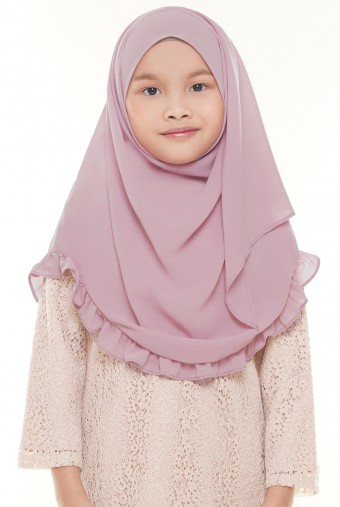 Darda Ruffle Full Instant Kids in Light Purple