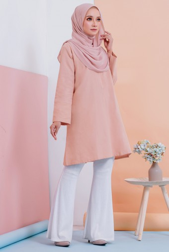 Raima Basic Tunic In Peach