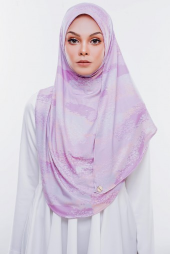 RIZQAA Printed  Instant in Bubblegum