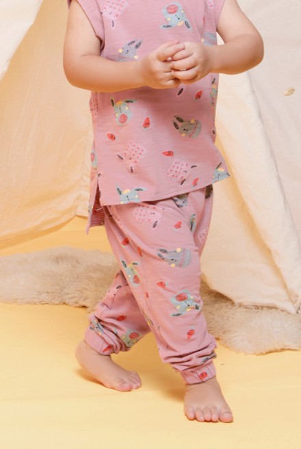AYDENOSOR Pant in Pink