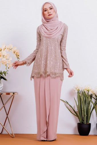 Maisun Kurung 2.0 in Nude Brown