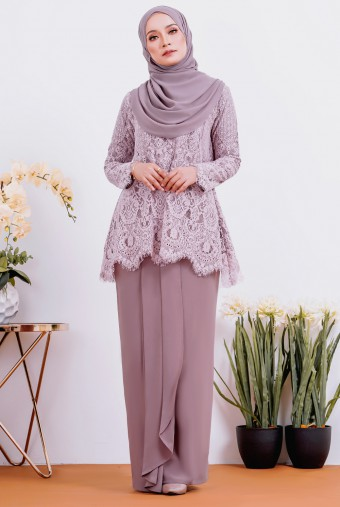Maisun Kurung 2.0 in Dusty Purple