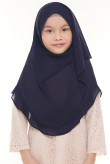 Darda Ruffle Full Instant Kids in Navy Blue