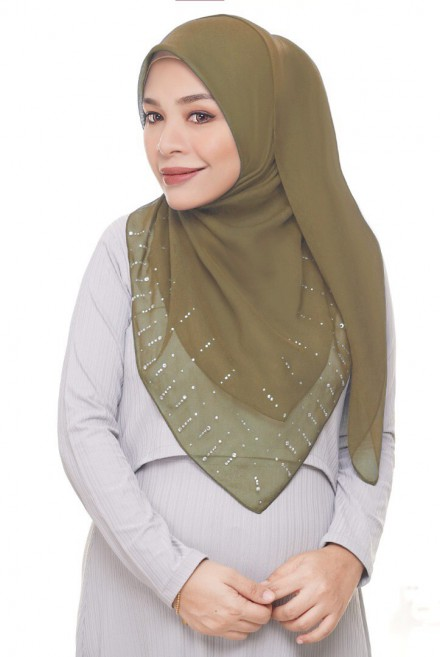 Myla Luxe Bawal in Olive Green