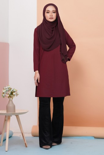 Royale Tunic in Maroon