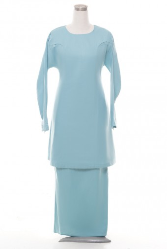 Kunyit Basic Kurung in Teal