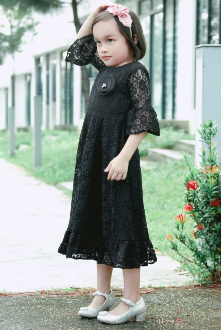 AMIYA Dress in Black