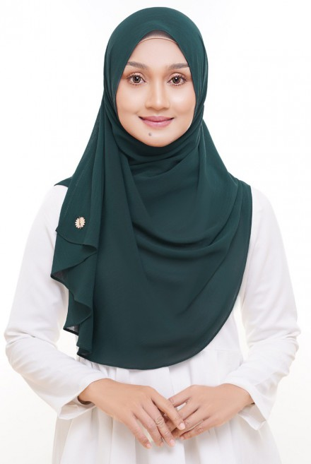 Sadia Halfmoon in Deep Green