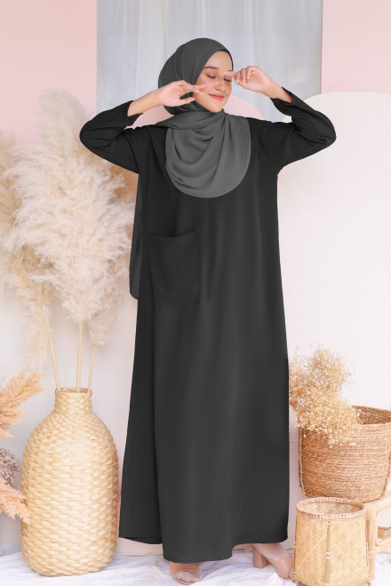 Baju Klawa Basic In Black