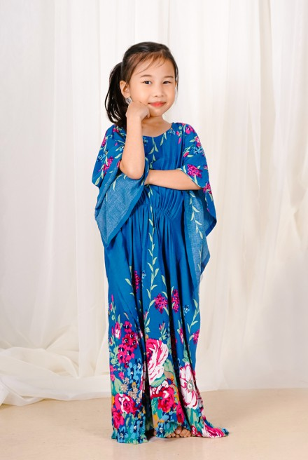 LUNA Kaftan Kids in Blue Thirstle