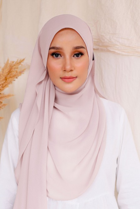 Bayu Instant Shawl in Blush