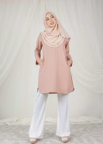 Dian Tunic In Coral