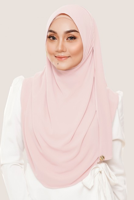 Rizqaa Full Instant in Soft Pink