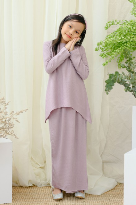 Srikandi Kids In Soft Purple