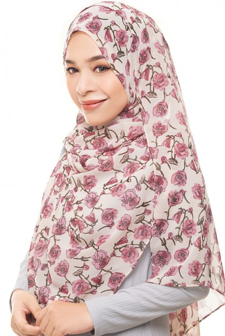 ADRA Long Shawl in Butterface