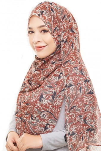 ADRA Long Shawl in Cheerful