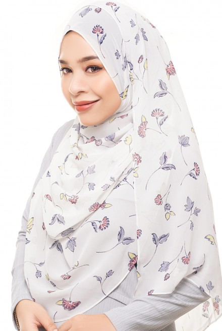 ADRA Long Shawl in Dove