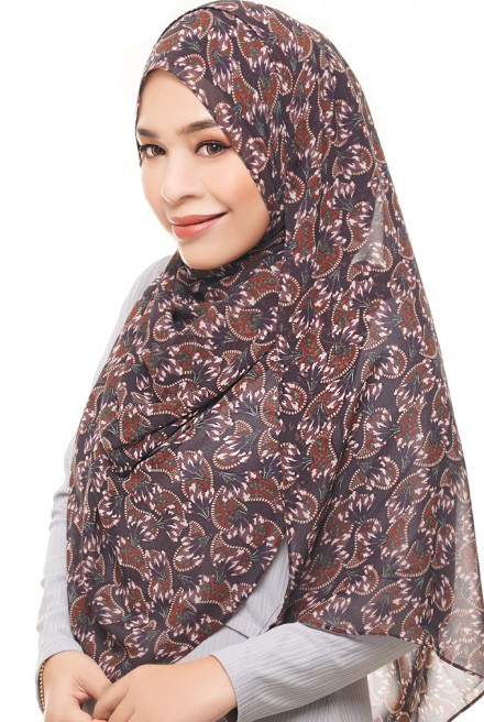 ADRA Long Shawl in Spicy