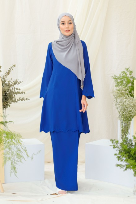 Widuri Kurung In Blue