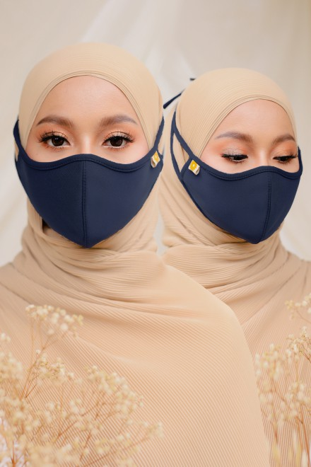 Airy Face Mask in Blue (2 pack)