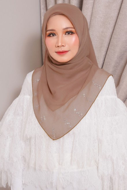 Myla Luxe Bawal Brown Cantik