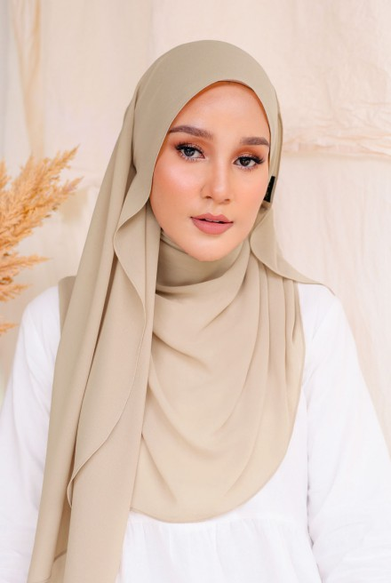 Bayu Instant Shawl in Clouds