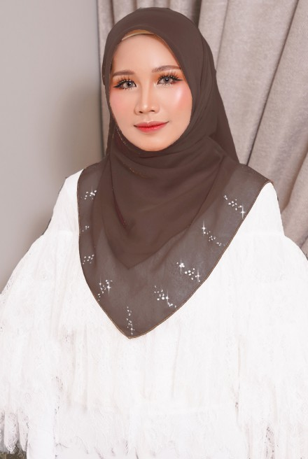 Myla Luxe Bawal in Dark Brown