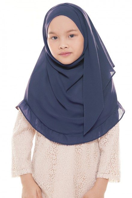 Darda Ruffle Kids in Dusty Blue