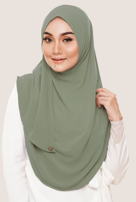 Rizqaa Full Instant in Dusty Olive