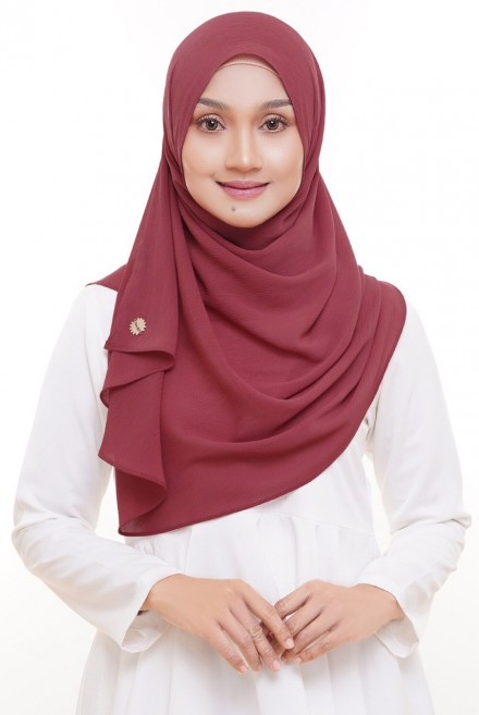 Sadia Series in Dusty Red