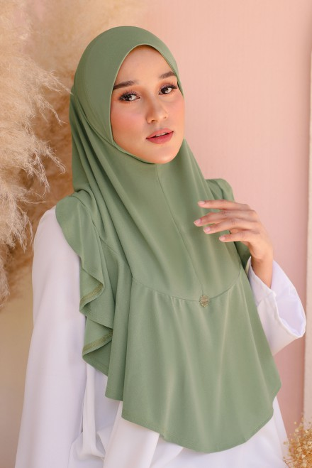 Eshma Express In Dusty Green