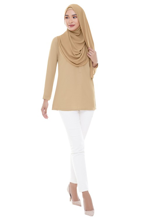 HAURI Blouse in Sand