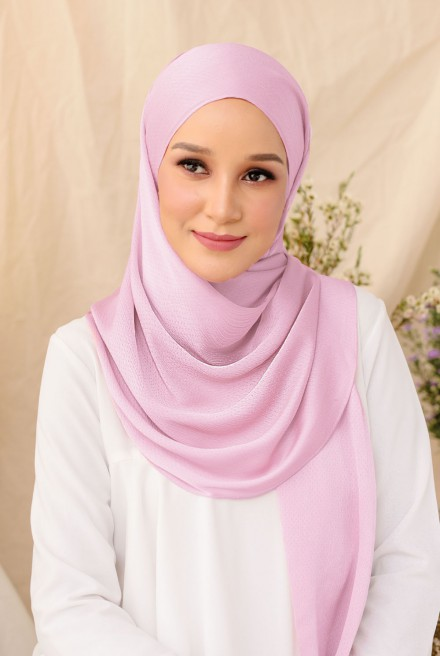 Nour Long Shawl In Lavender
