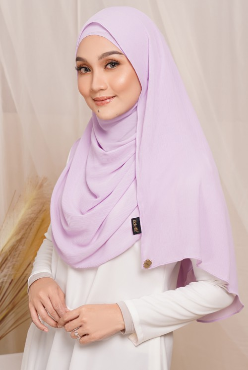 Sadia Long Shawl in Lavender