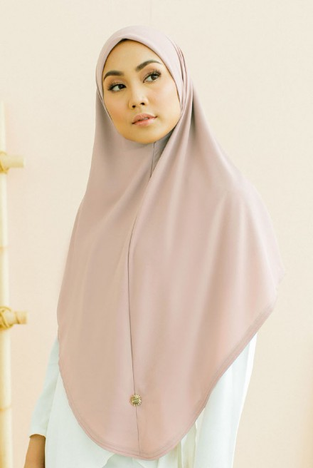 (AS-IS) Afja Bawal Express in Light Peach