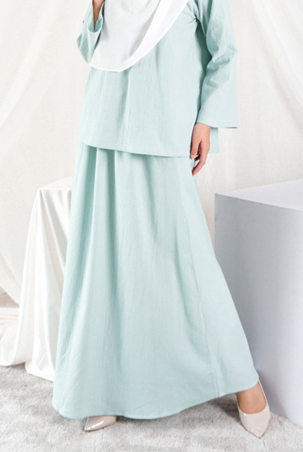 Nomi Skirt in Mint Blue