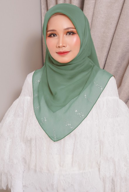 Myla Luxe Bawal Olive Army