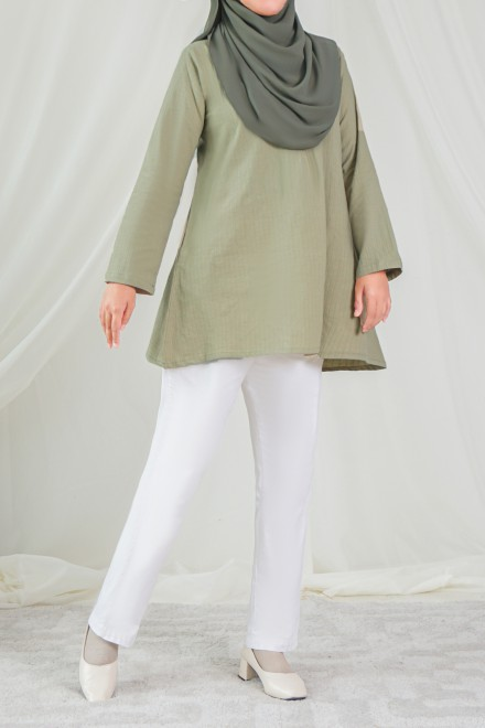 RUMI Blouse in Olive