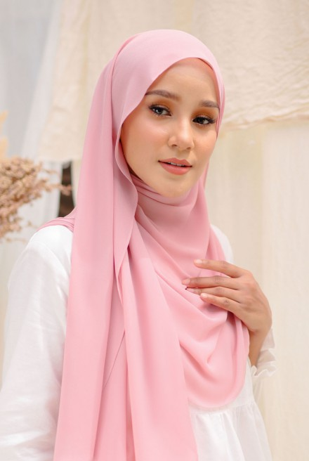 Bayu Instant Shawl in Pale Pink