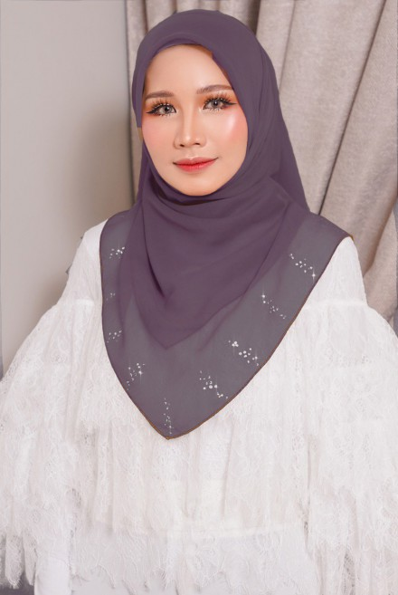 Myla Luxe Bawal Dusty Purple