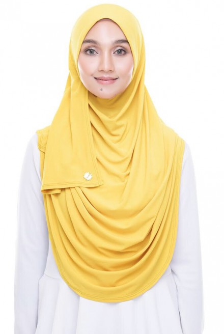 (AS-IS) Rizqaa Full Instant in Yellow