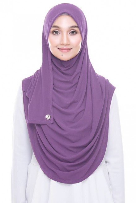 (AS-IS) Rizqaa Full Instant in Amethyst