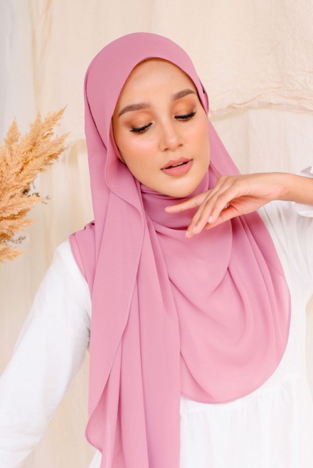 Bayu Instant Shawl in Pink