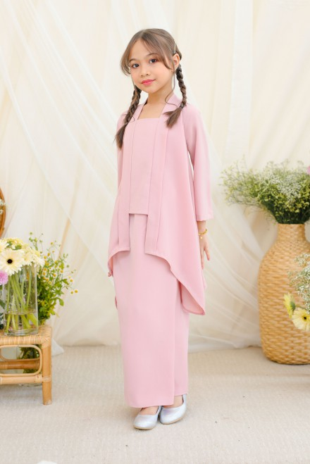 Adiwarna Kebaya Girl  In Soft Pink