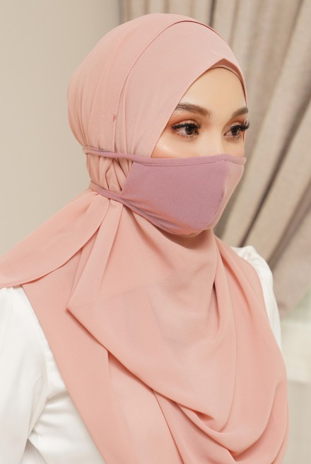 Lora Face Mask in Pink